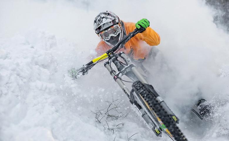 MTB in inverno